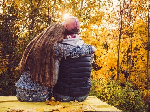 Couple in Autumn