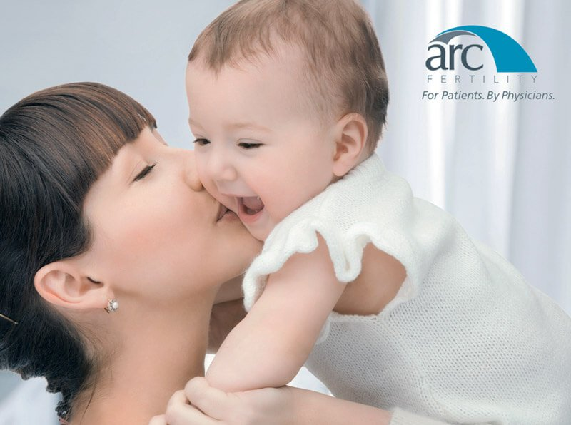 ARC Fertility - Mom and Baby